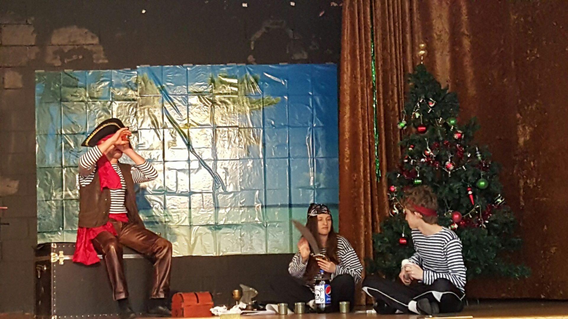 Новогоднее представление в Бруклине
